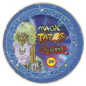 Tazos > Elma Chips > Yu-Gi-Oh! Magic Tazo 31-40-Back-Blue-Marik-Ishtar.