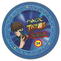 Tazos > Elma Chips > Yu-Gi-Oh! Magic Tazo 31-40-Back-Blue-Seto-Kaiba.