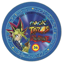 Tazos > Elma Chips > Yu-Gi-Oh! Magic Tazo 31-40-Back-Blue-Yami-Yugi.