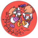 Tazos > Chile > Disney 28-Donald-y-Daisy.