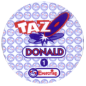 Tazos > Chile > Disney Back.
