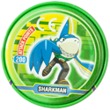 Tazos > MegaMan NT Warrior Metal Tazos 12-back---SharkMan.