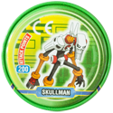 Tazos > MegaMan NT Warrior Metal Tazos 13-back---SkullMan.