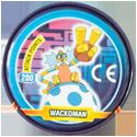 Tazos > MegaMan NT Warrior Metal Tazos 16-back---WackoMan.