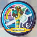 Tazos > MegaMan NT Warrior Metal Tazos 18-back---PharaohMan.