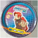 Tazos > MegaMan NT Warrior Metal Tazos 19---Mr.-Match.