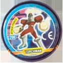 Tazos > MegaMan NT Warrior Metal Tazos 19-back---TorchMan.