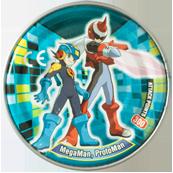 Tazos > MegaMan NT Warrior Metal Tazos 24-back---MegaMan,-ProtoMan.