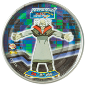 Tazos > MegaMan NT Warrior Metal Tazos 28---Mr.-Wily.