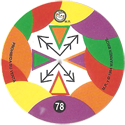Tazos > Sabritas > Mega Gira 78-Nigeria-(back).