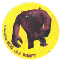 Tazos > Monsters Inc 02-J.J.-Ranft.