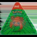Tazos > Pokemon Trio 03-#46-Paras.