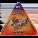 Tazos > Pokemon Trio 06-#21-Spearow.