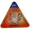 Tazos > Pokemon Trio 07-#36-Clefable.