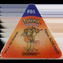 Tazos > Pokemon Trio 10-#85-Dodrio.