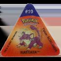 Tazos > Pokemon Trio 11-#19-Rattata.