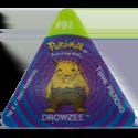Tazos > Pokemon Trio 12-#96-Drowzee.