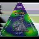 Tazos > Pokemon Trio 17-#89-Muk.