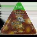Tazos > Pokemon Trio 20-#105-Marowak.