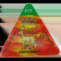 Tazos > Pokemon Trio 25-#78-Rapidash.
