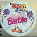 Tazos > Spain > Barbie Back-Barbie.