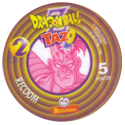 Tazos > Spain > Dragonball Z Series 1 02-Recoom-(back).