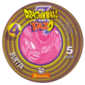 Tazos > Spain > Dragonball Z Series 1 04-Burtta-(back).