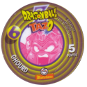 Tazos > Spain > Dragonball Z Series 1 06-Ghourd-(back).