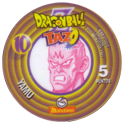 Tazos > Spain > Dragonball Z Series 1 10-Yamu-(back).