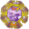 Tazos > Spain > Dragonball Z Series 2 32-Pui-Pui-(back).