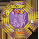 Tazos > Spain > Dragonball Z Series 2 47-Kaioh-Shin-(back).