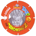 Tazos > Spain > Dragonball Z Series 3 03-Son-Gohan-(back).