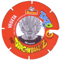 Tazos > Spain > Dragonball Z Series 3 06-Vegeta-(back).