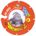 Tazos > Spain > Dragonball Z Series 3 07-Majin-Boo-(back).