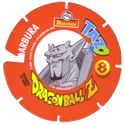 Tazos > Spain > Dragonball Z Series 3 08-Darbura-(back).