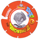 Tazos > Spain > Dragonball Z Series 3 10-Trunks-(back).