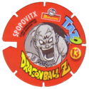 Tazos > Spain > Dragonball Z Series 3 13-Spopovitx-(back).