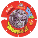 Tazos > Spain > Dragonball Z Series 3 20-Kibito-(back).