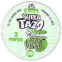Tazos > Spain > Super Tazo Taz-Mania Back.