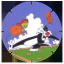 Tazos > Walkers > Looney Tunes 12-Sylvester.