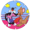 Tazos > Walkers > Looney Tunes 15-Sylvester.