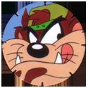 Tazos > Walkers > Looney Tunes 25-Taz.