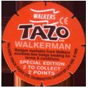 Tazos > Walkers > Looney Tunes Back-Walkerman.