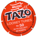 Tazos > Walkers > Looney Tunes Back.