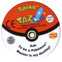 Tazos > Walkers > Pokémon 01-Ash-(back).