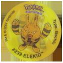 Tazos > Walkers > Pokémon 03-#239-Elekid.