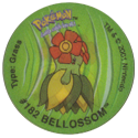 Tazos > Walkers > Pokémon 05-#182-Bellossom.