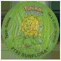 Tazos > Walkers > Pokémon 06-#192-Sunflora.