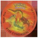 Tazos > Walkers > Pokémon 07-#155-Cyndaquil.