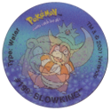 Tazos > Walkers > Pokémon 11-#199-Slowking.